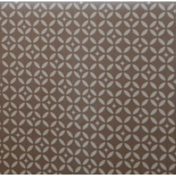 Wipe clean fabric cut Beige Mosaic