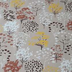 Wipe clean fabric cut Yellow Tree