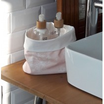 Wipe clean Storage Basket Astrancie Pink