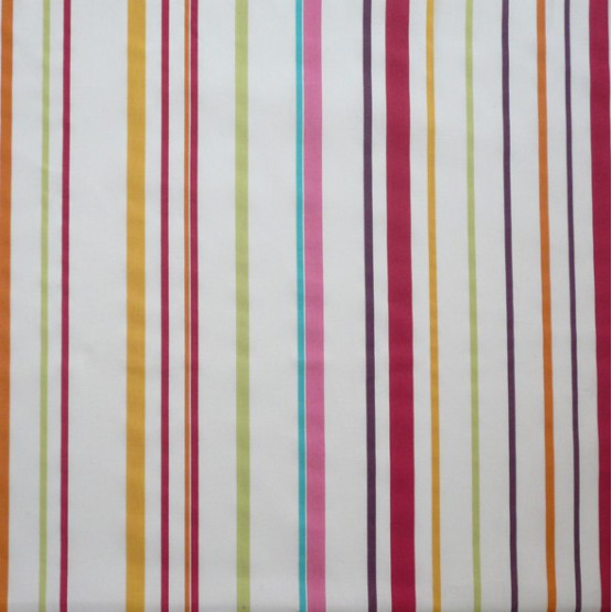 WIPEABLE TABLECLOTH STRIPE MULTICOLOURED FLEUR DE SOLEIL