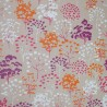 Wipe clean tablecloth Pink Tree round or ovalFleur de Soleil
