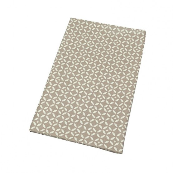 Wipe clean fabric Mosaic beige