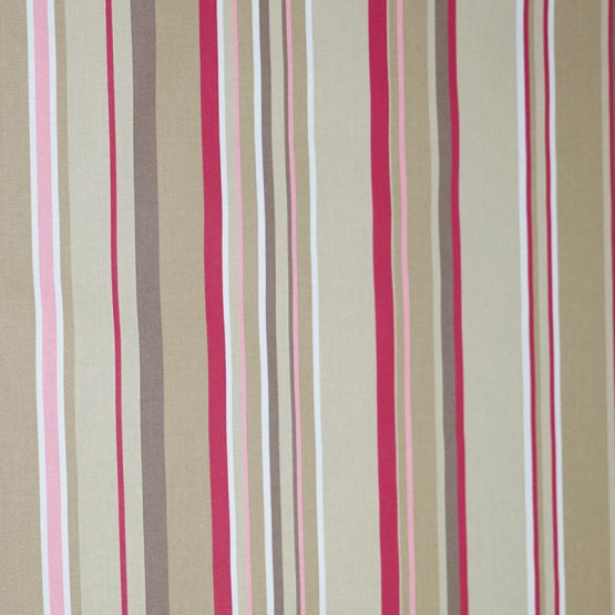 Wipe clean fabric Stripes taupe