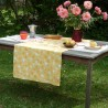 WIPE CLEAN TABLECLOTH HERBS YELLOW WIPEABLE TABLECLOTH Fleur de Soleil