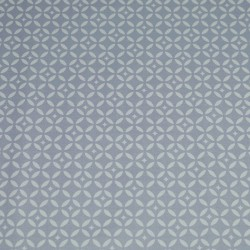 Cotton fabric Mosaic Grey/white