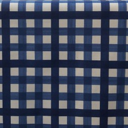 Wipe clean fabric Guinguette Blue