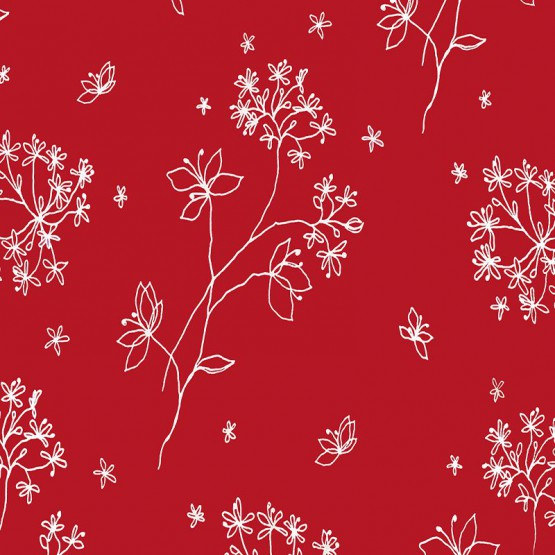 Coupon enduit 50x80cm Astrance rouge