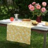 Cotton tablecloth Herbes yellow