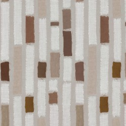 Wipe clean fabric Striped Patch taupe