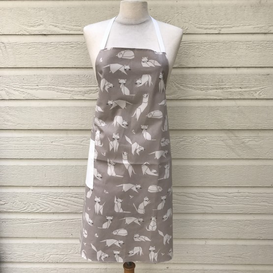 Apron Cats taupe