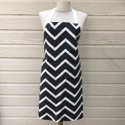 Apron Chevron Black/graphite