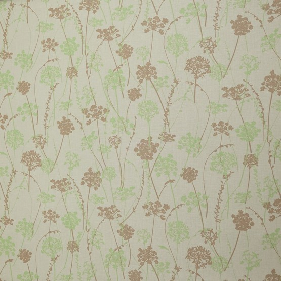 Pattern Herbs Green/taupe