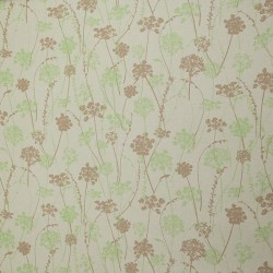 Pattern Herbs Taupe/green