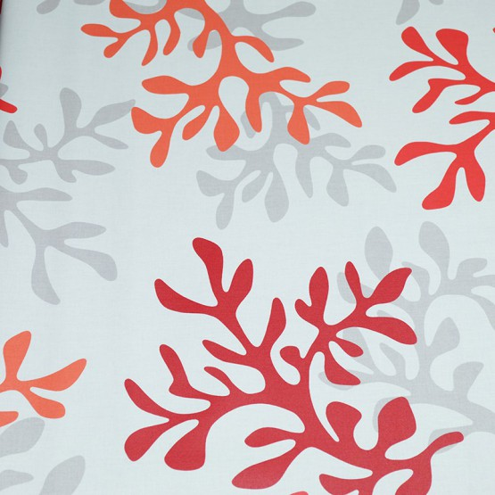 Pattern Coral Red