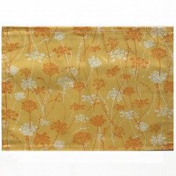 Wipe clean placemats Herbs yellow