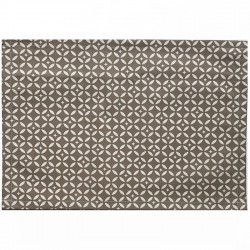 Wipe clean placemats Mosaic taupe/beige