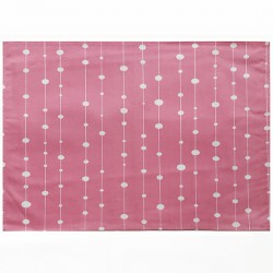Wipe clean placemats Pearls pink