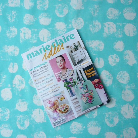 Wipe clean fabric Pastille mint