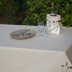 Table runner Plain beige