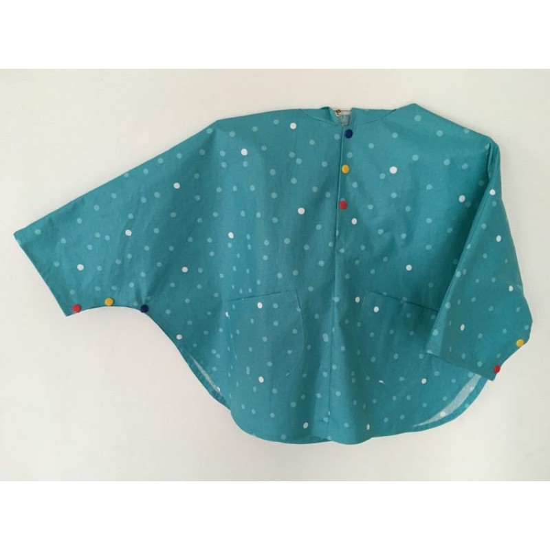 Sewing pattern rain cape for kids