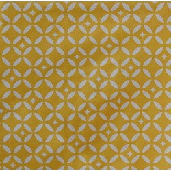 Motif carreaux de ciment jaune