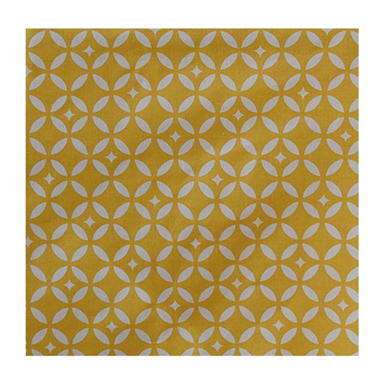 design mosaic yellow