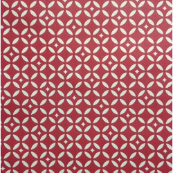 Pattern Mosaic Red