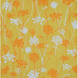 Pattern Herbs Yellow