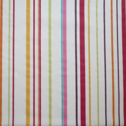 Cotton fabric Stripe multicoloured