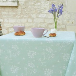 Wipe clean tablecloth Astrancia Green