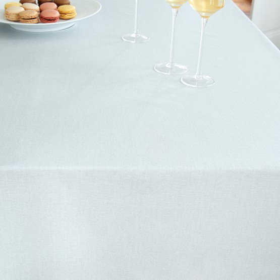 Coated tablecloth Astrancia redFleur de Soleil