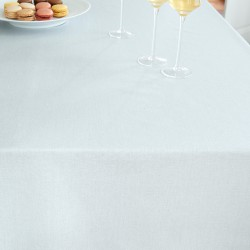Wipe clean tablecloth Silver sequined round or oval