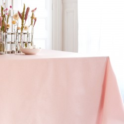 Wipe clean tablecloth Pink sequined