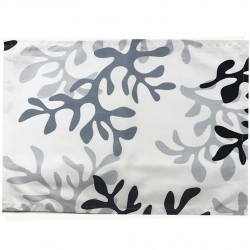 Wipe clean placemats Coral grey