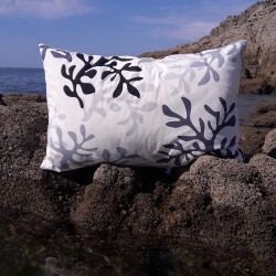 Black Coral Cushion