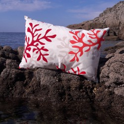 Red Coral Cushion