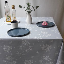 Chemin de table Astrance gris