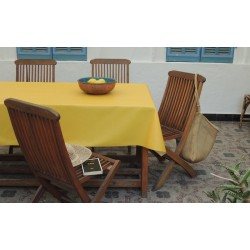 Chemin de table Uni jaune